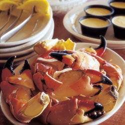 Chilled Stone Crab Claws with Mustard Sauce