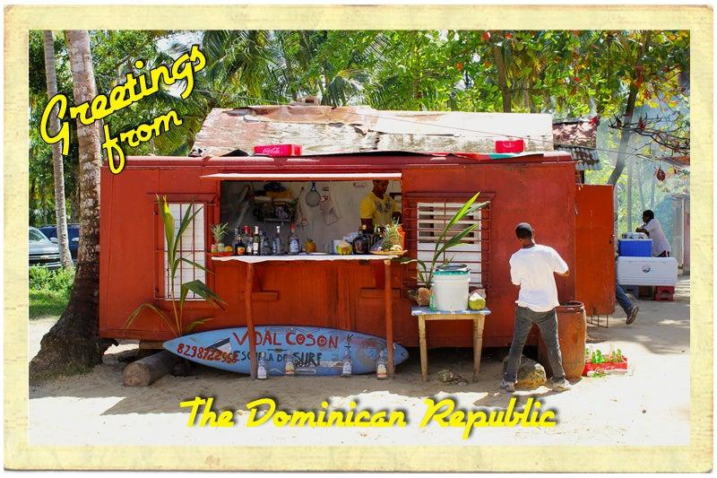 Postcard: Restaurante Luis