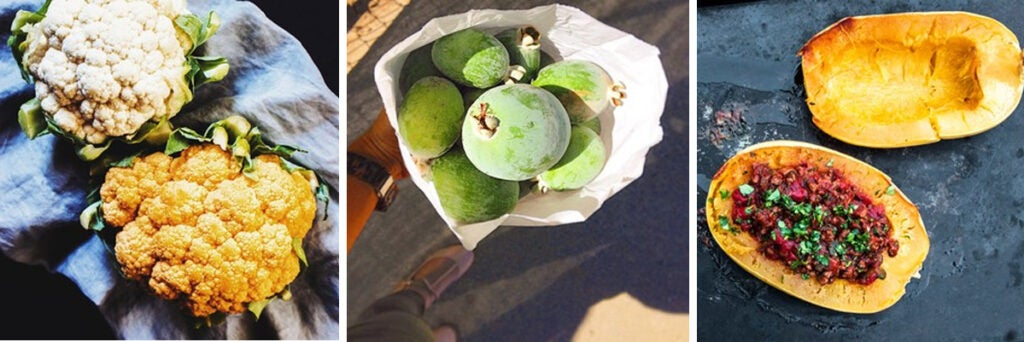 Fresh fall guava