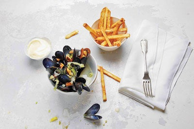 A National Obsession: Belgium's <em>Moules Frites</em>