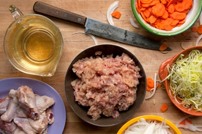 How to Make Chicken Stock in a Pressure Cooker