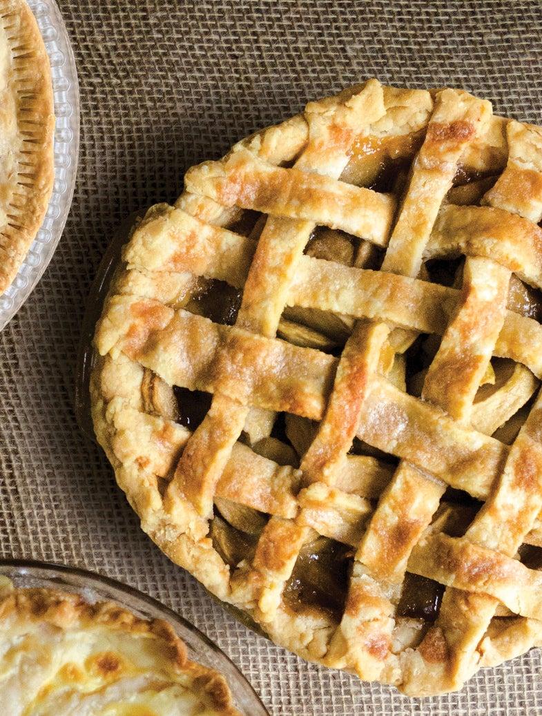 Apple-Rosemary Lattice Pie