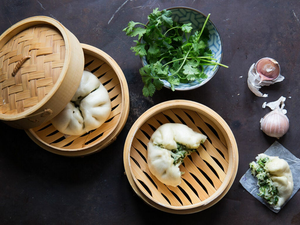 Steamed Crab Buns