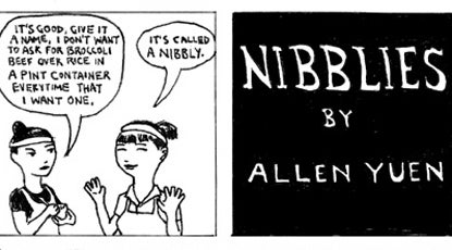 Recipe Comix: Nibblies