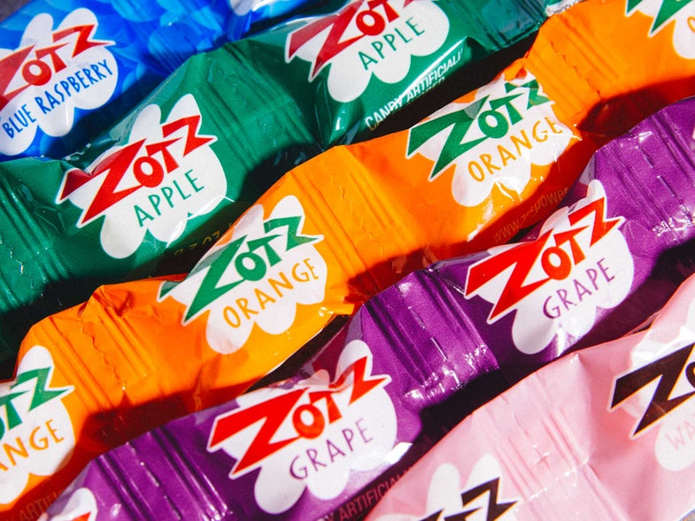 Have You Ever Tried Zotz, Italy's Dangerously Sour Candy With an Explosive Surprise?