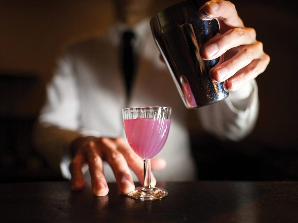 Tiny Cocktails at Gen Yamamoto; Tokyo