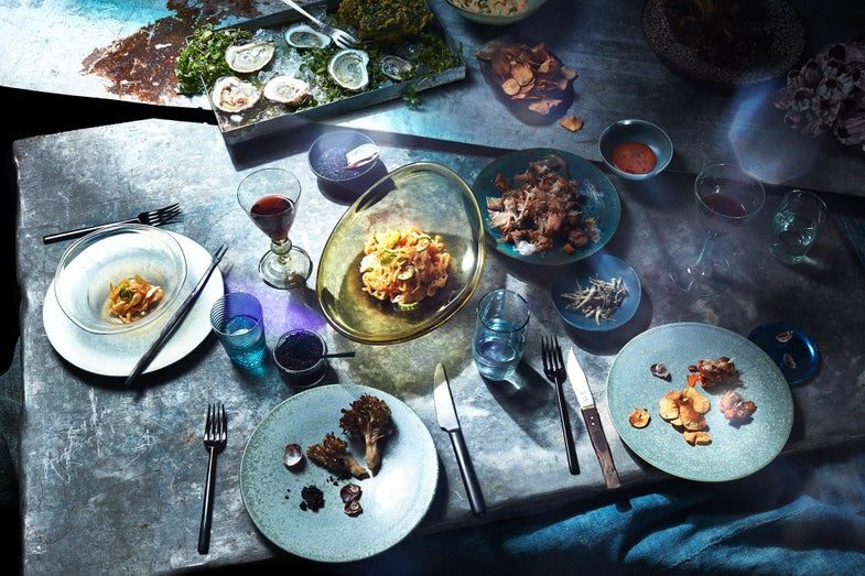 What Dinner Might Look Like in a Future of Global Warming and Rising Sea Levels