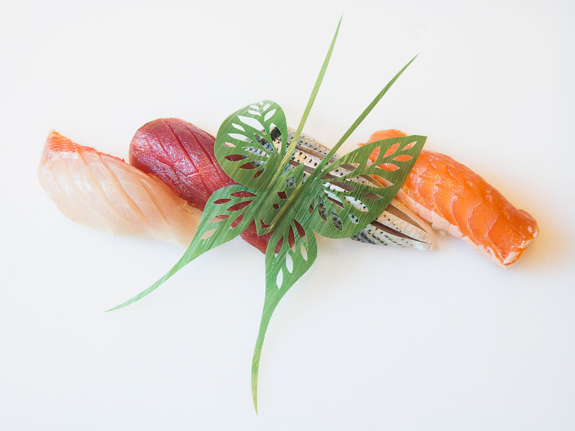 Watch This Sushi Chef Turn Bamboo Leaves Into Stunning Works of Art
