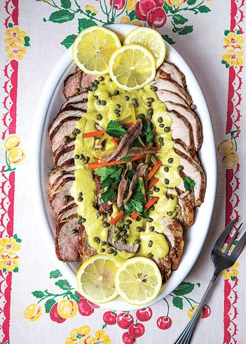 """""""vitello-tonnato-italian-veal-with-tuna-caper-sauce"""""""
