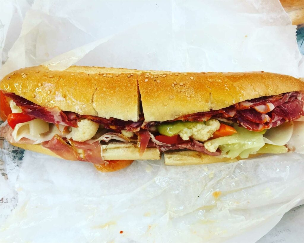 The world's most beautiful sandwich, from Arthur Avenue in the Bronx