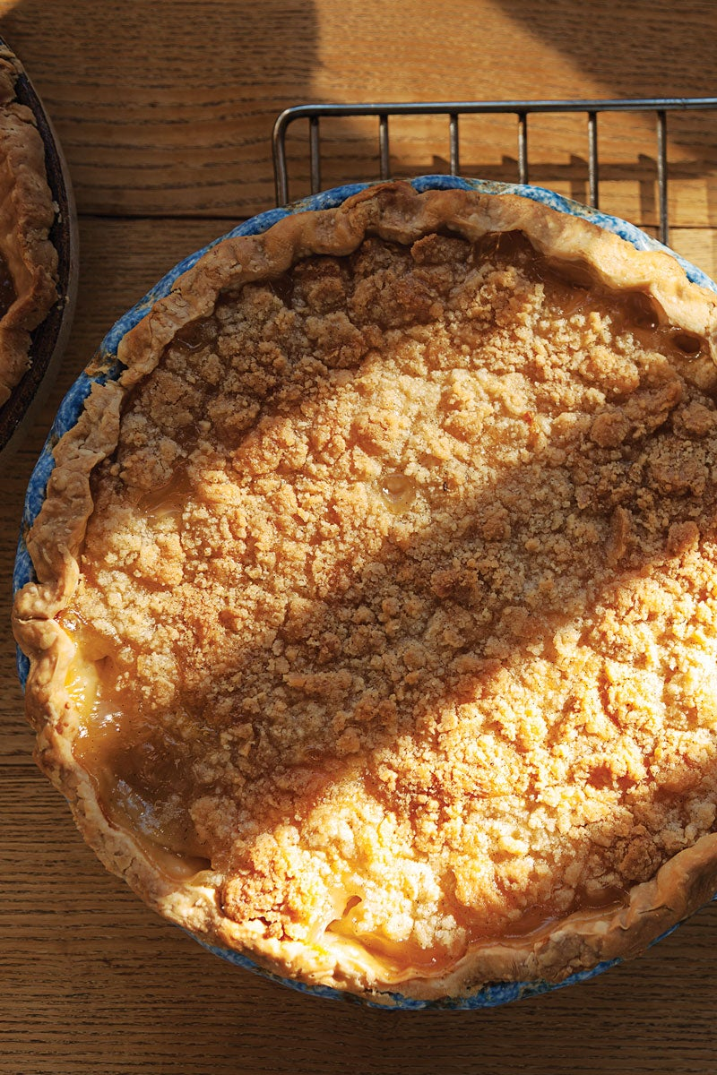 Pear and Ginger Pie