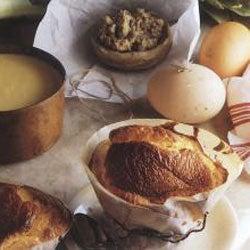 Artichoke and Mushroom Soufflé