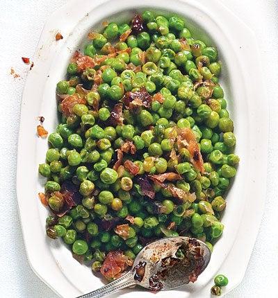 Sweet Peas with Prosciutto (Piselli al Prosciutto)
