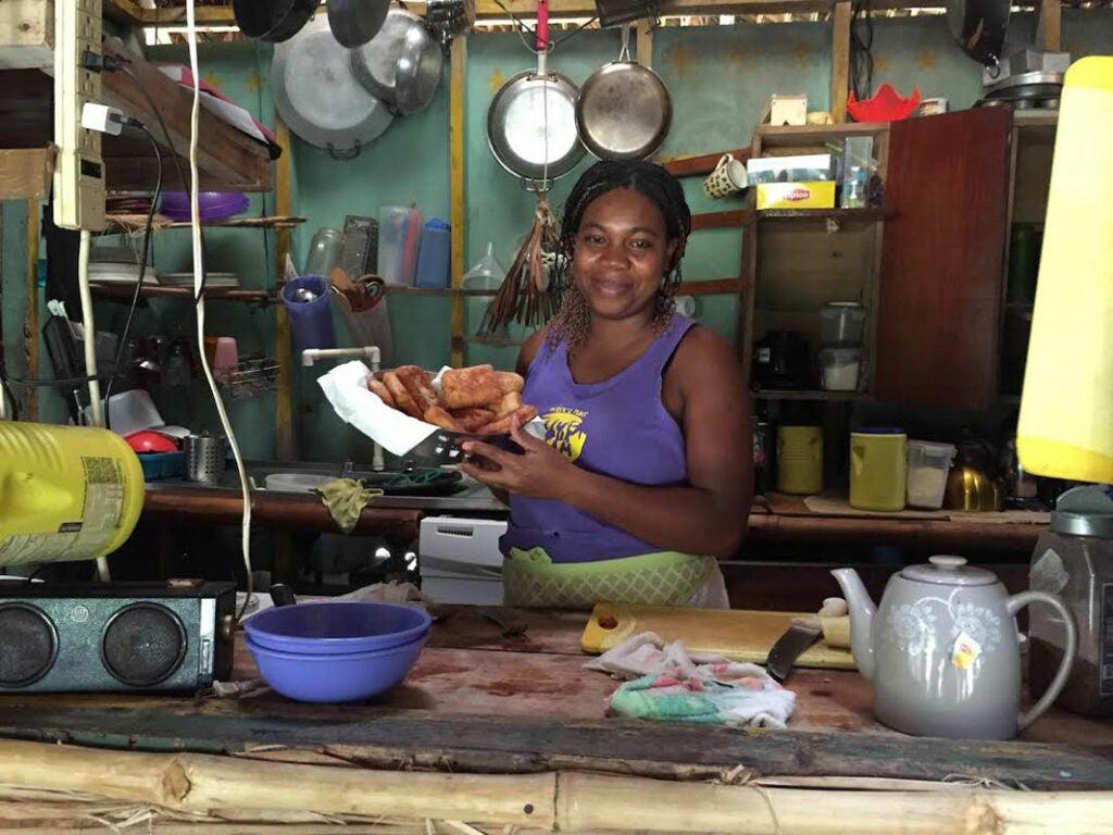 Rachel Rebeca Sambola López of Derek's Place; Little Corn Island, Nicaragua