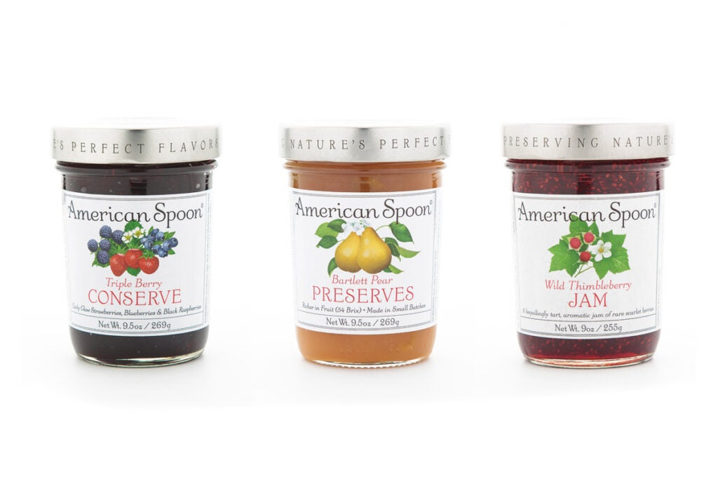 American Spoon fruit preserves