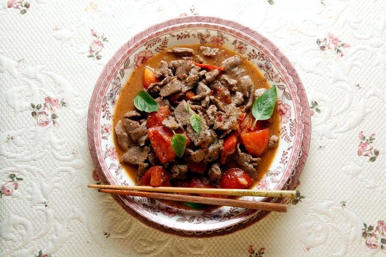 Homestyle Tomato Beef Stir-fry