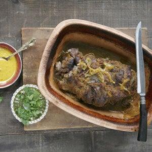 Indian-Style Lamb Pot Roast