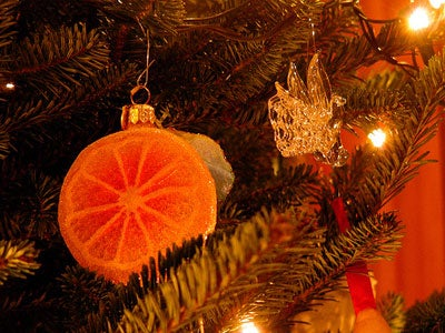 Christmas Oranges in the Stocking