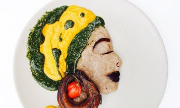 A Nigerian Artist is Turning the Food of Her Childhood Into Art