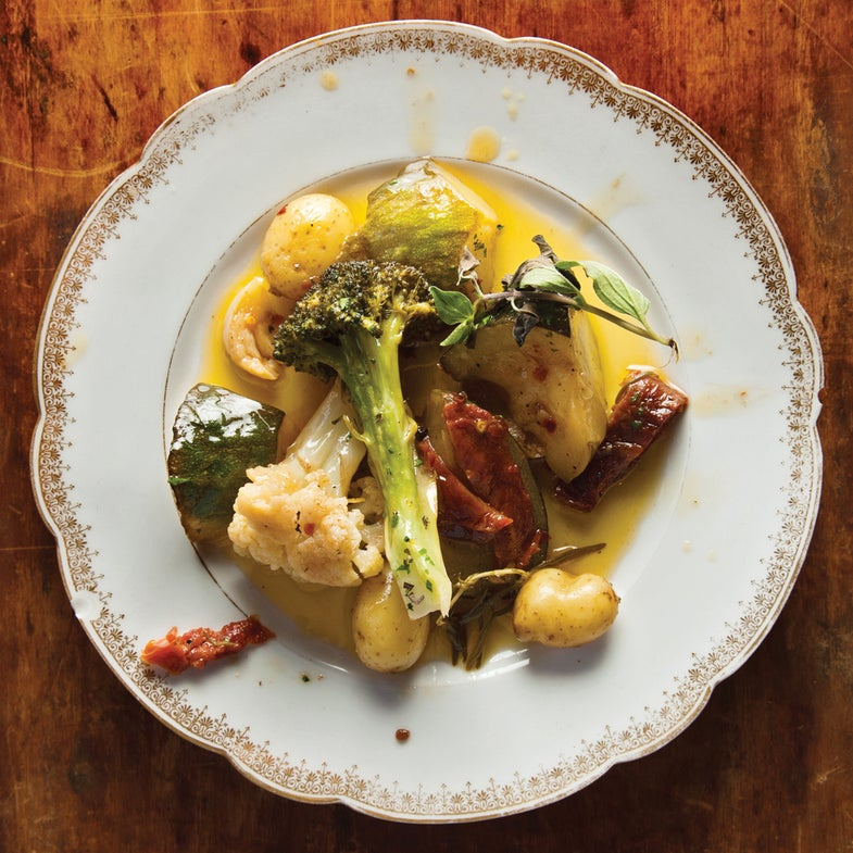 Olive Oil-Braised Vegetables