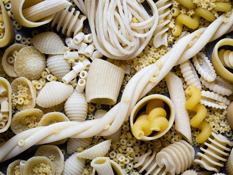 How Many Pasta Shapes Do You Know?