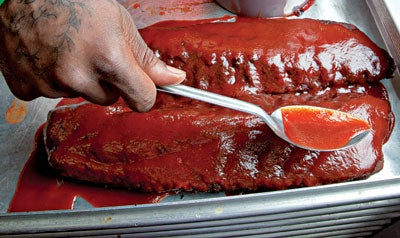 Baby Back Ribs with Sweet and Sticky Sauce