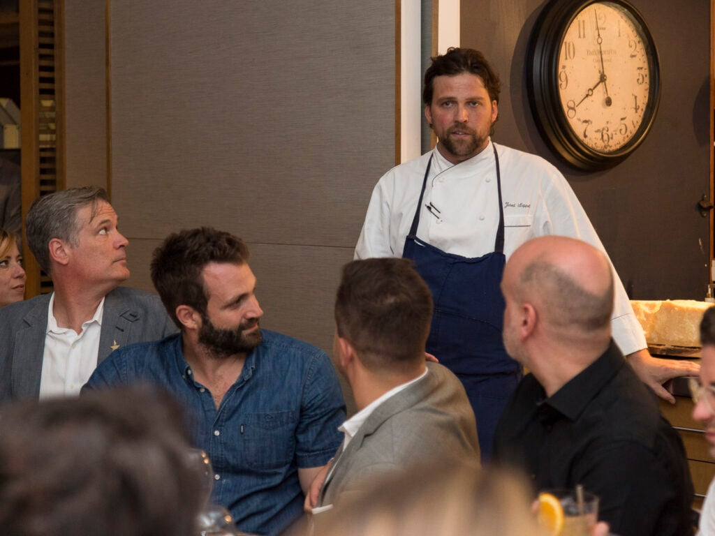 Chef Jared Sippel explains the concept behind *Italienne*