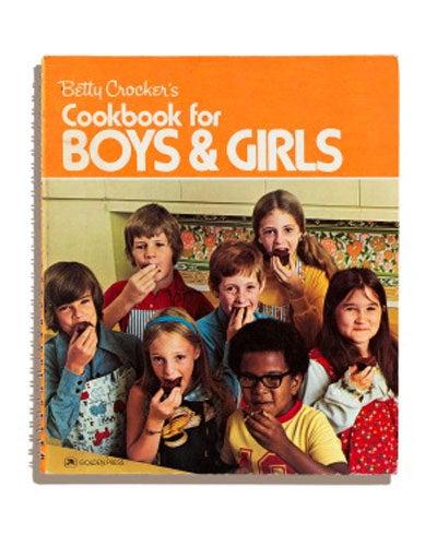 Betty Crocker Cookbook for Boys & Girls