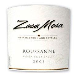 Zaca Mesa, Santa Ynez Valley (California) Roussanne 2005