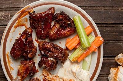 Fiery Oven-Baked Chicken Wings