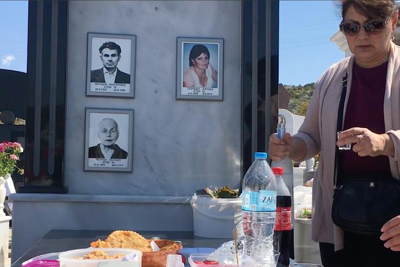 There's No Crying at This Greek Graveyard Picnic