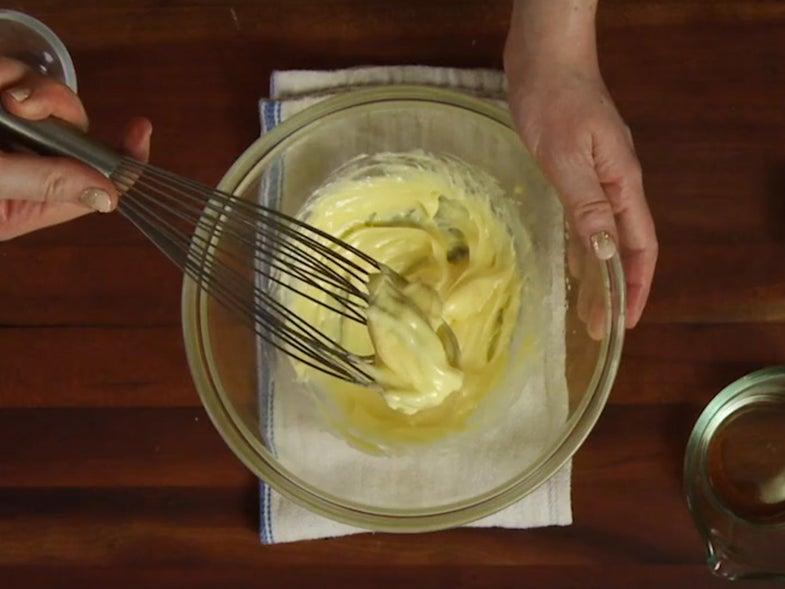 Basics: How to Make Mayonnaise