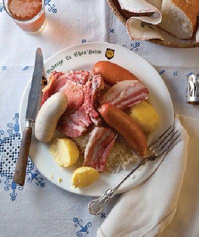 Sauerkraut with Pork and Sausages (Choucroute Garnie)