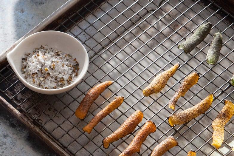 Burnt Citrus Salt, DIY Pantry