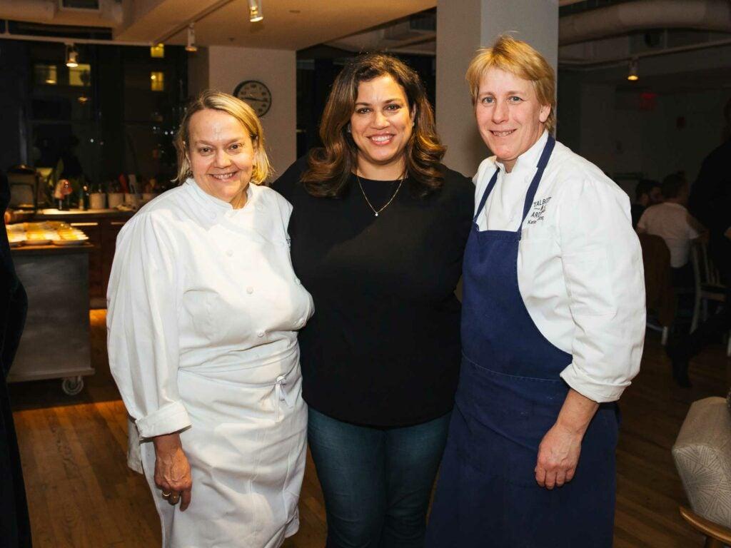 Mona Talbott, Christina Perozzi, and Kate Arding