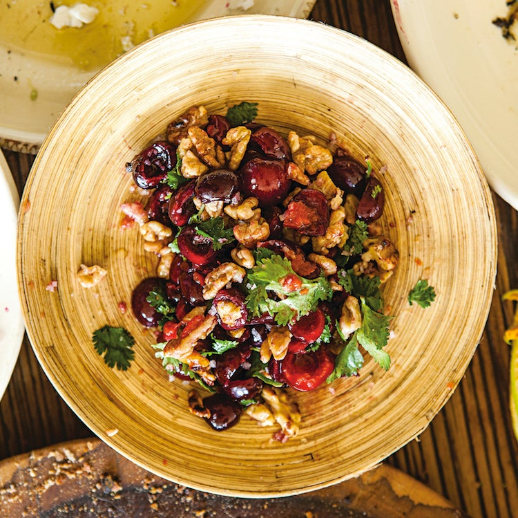 Cherry & Herb Salad