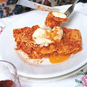 Music-Paper Bread Lasagne