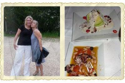 Postcard: Sunday Supper at beachhouse