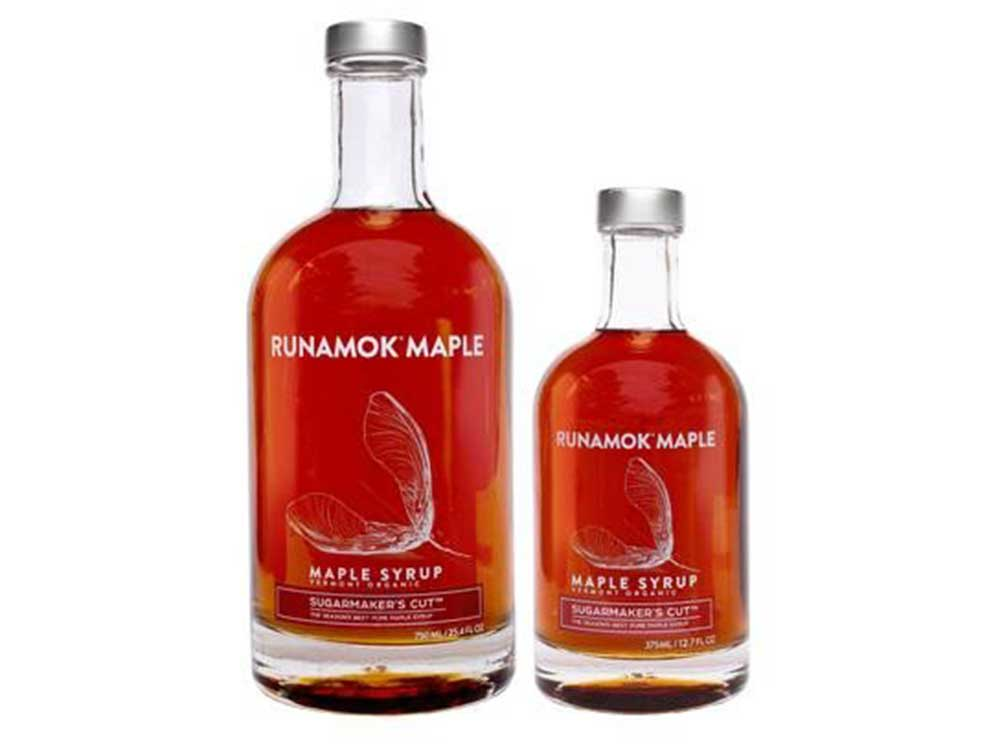 Cut maple syrup from Vermont