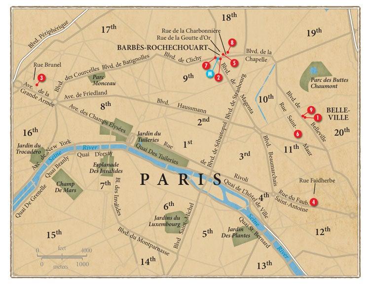 Travel Guide: Maghrébin Paris