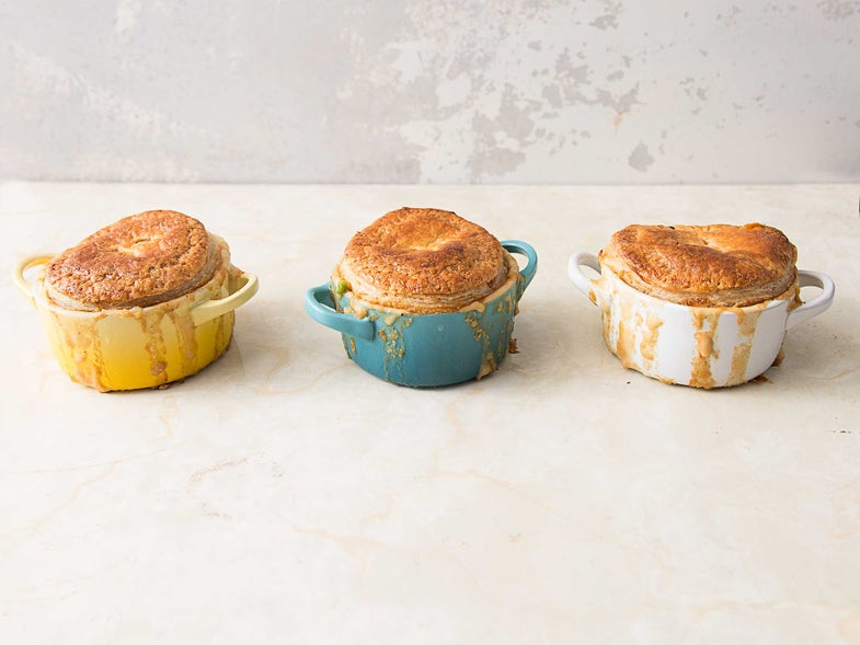 Top Your Pot Pie With Puff Pastry and Mashed Potatoes