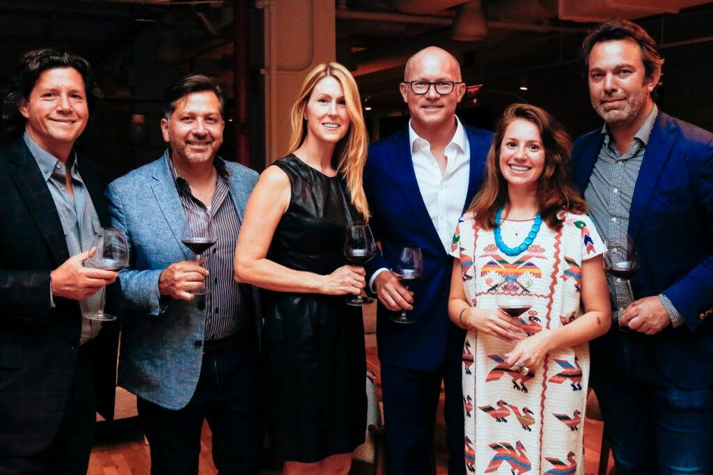 Herb Karlitz, Anthony Giglio, Allison Zinczenko, Bonnier Corporation CEO Eric Zinczenko, Special Projects Editor Leslie Pariseau, and Editor-in-Chief Adam Sachs.