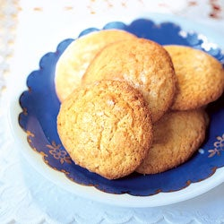 Bitter Cream and Orange Biscuits