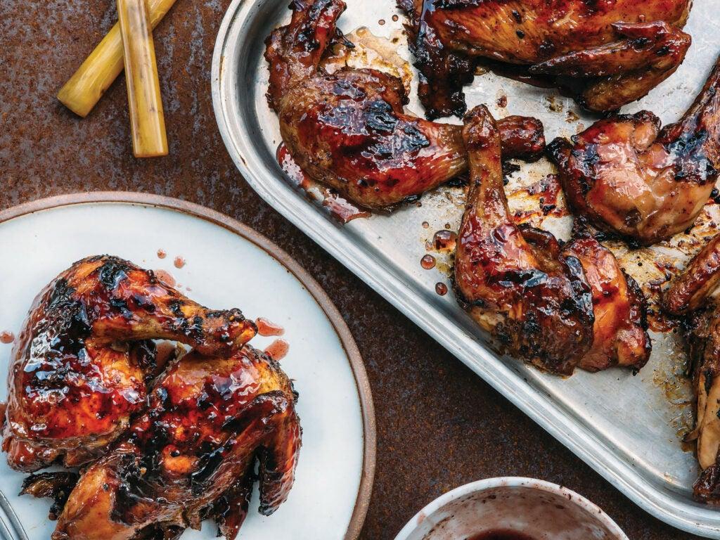 blueberry bbq chicken