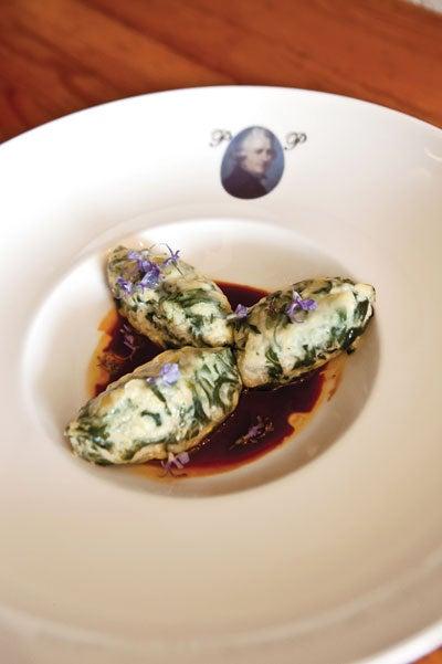 Swiss Chard and Cheese Dumplings (Strozzapreti)