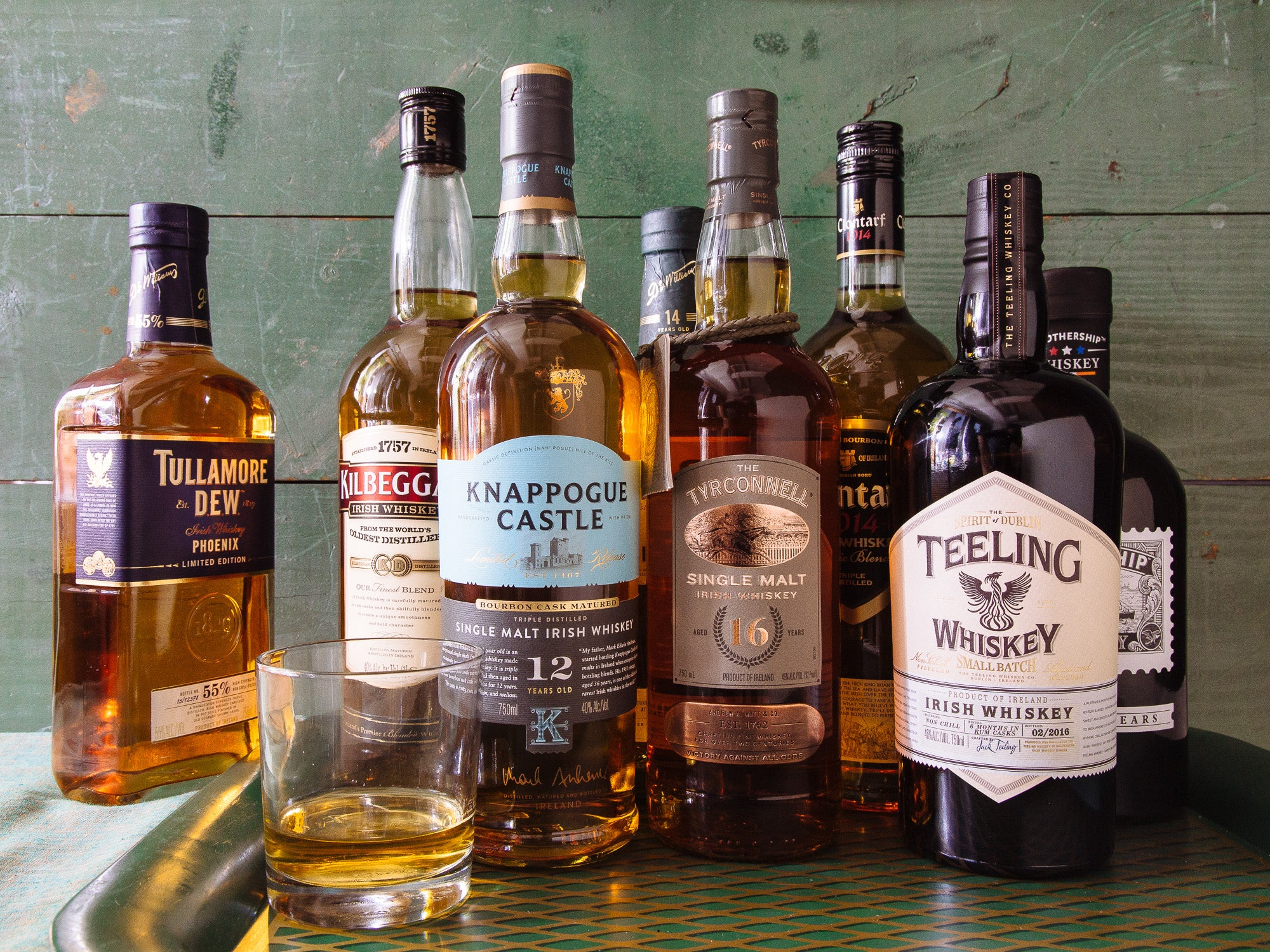 The 6 Best Irish Whiskeys to Sip this St. Patrick's Day (Besides Jameson)