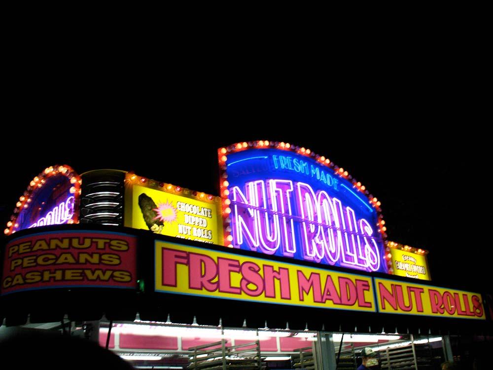 Nut Roll Palace