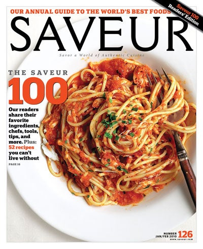 The 2010 SAVEUR 100 List