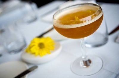 Oz Champagne Cocktail