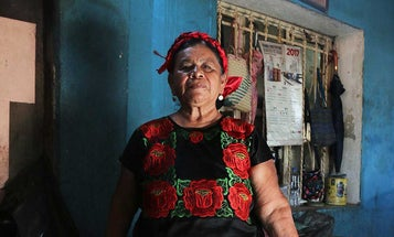 The Lady of the Istmo Has No Patience for Earthquakes
